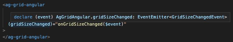GridSizeChanged Code Hint