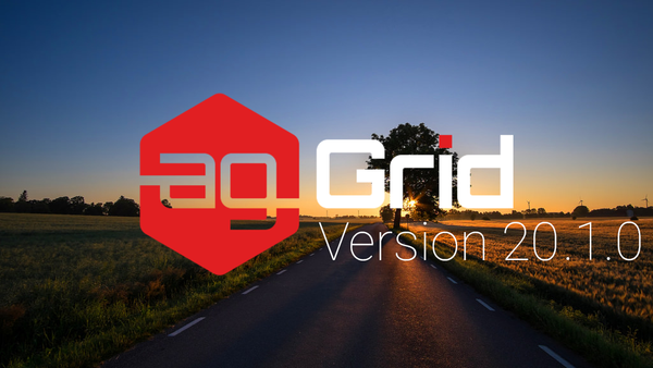 Introducing Version 20.1 of ag-Grid