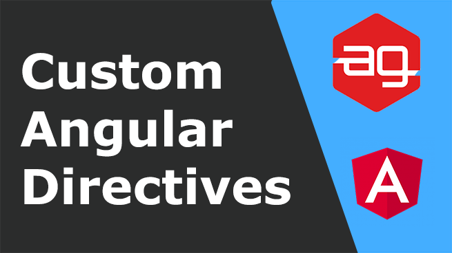 Custom Angular directives