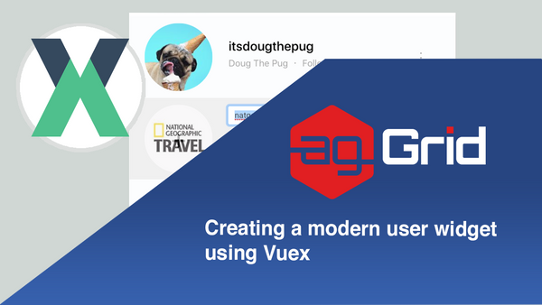 ag-Grid & Vuex | creating a modern user widget