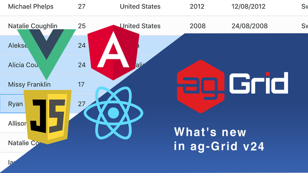 What's new in ag-Grid v24