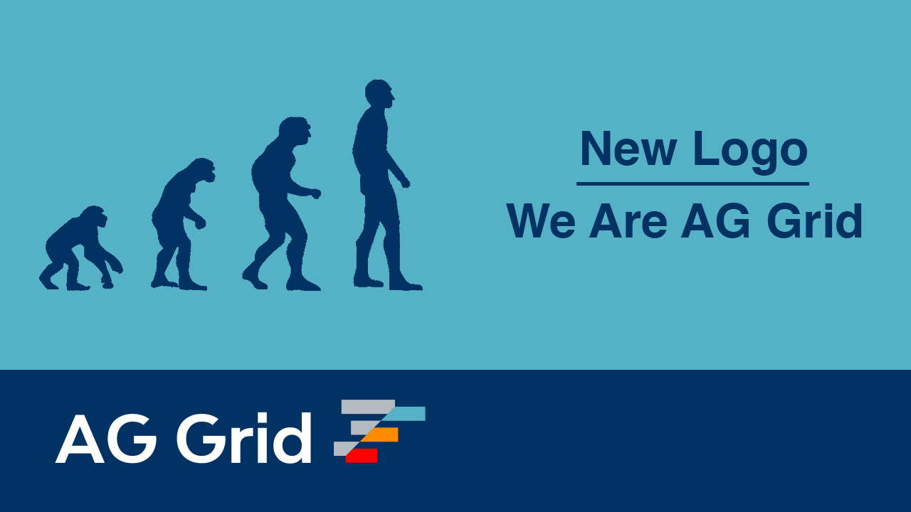 New Logo, We Are AG Grid